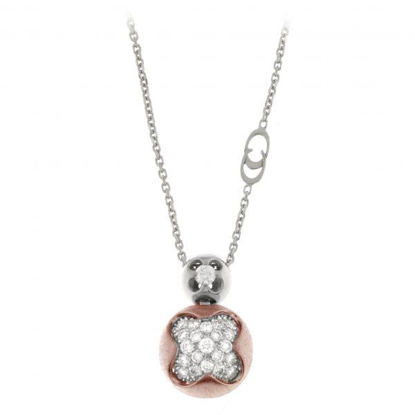Ogrlica od belog zlata sa dijamantima