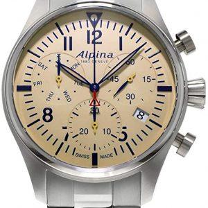 Alpina muški sat sa metalnom narukvicom