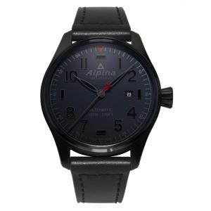 Alpina Pilot Black Dial