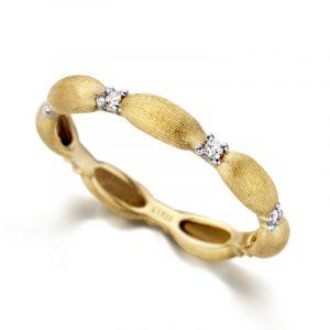 Elegantan prsten žuto zlato