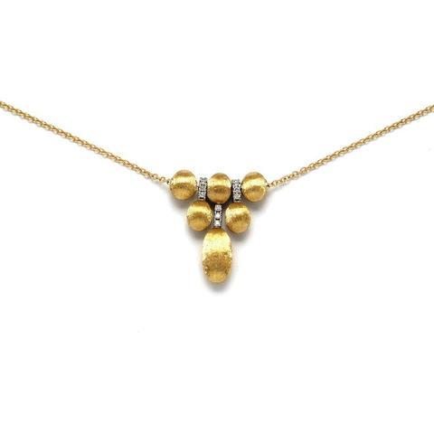 Elegantna ogrlica sa dijamantima