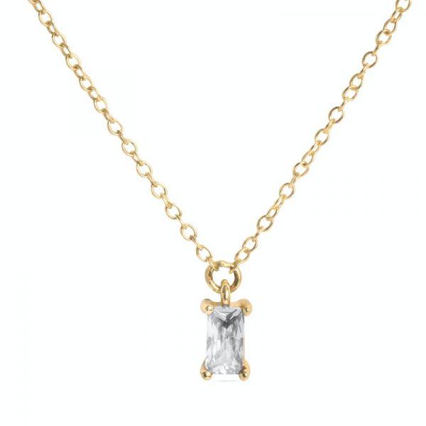 Ogrlica od srebra sa pozlatom