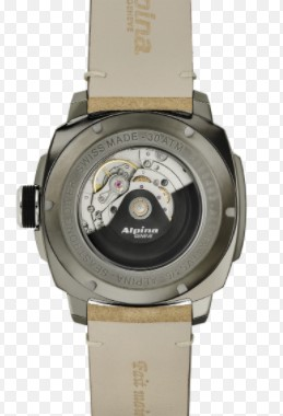 Automatski sat sa kožnom narukvicom