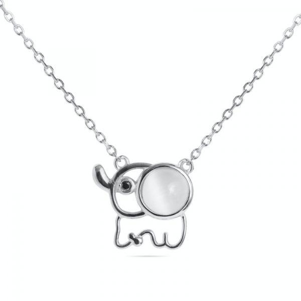 Srebrna ogrlica slon