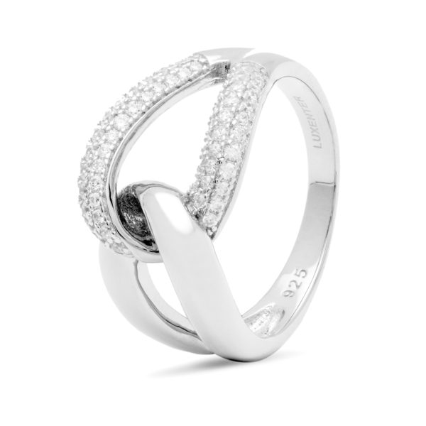 elegantan srebrni prsten