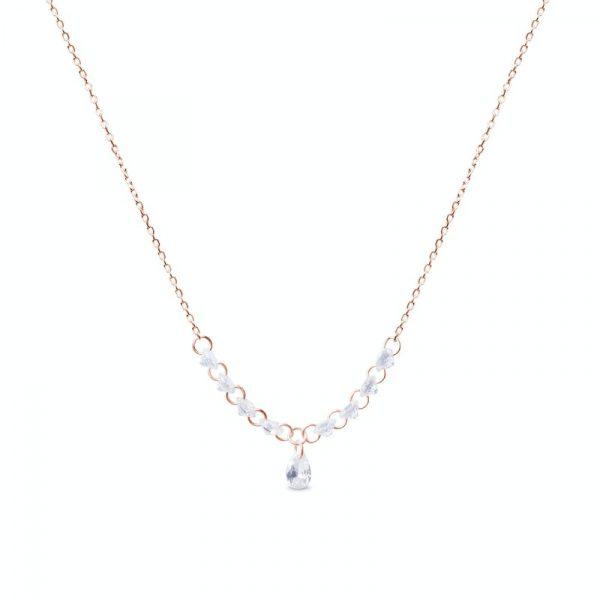 Elegantna srebrna ogrlica