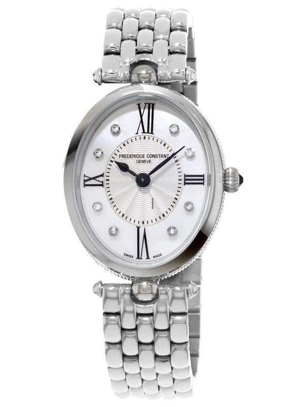 Ženski sat ovalnog oblika