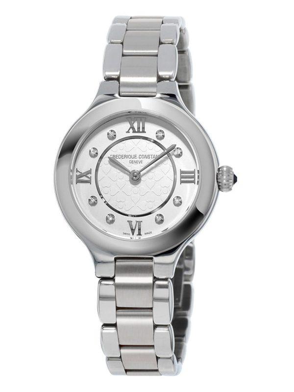 Ženski sat sa metalnom narukvicom