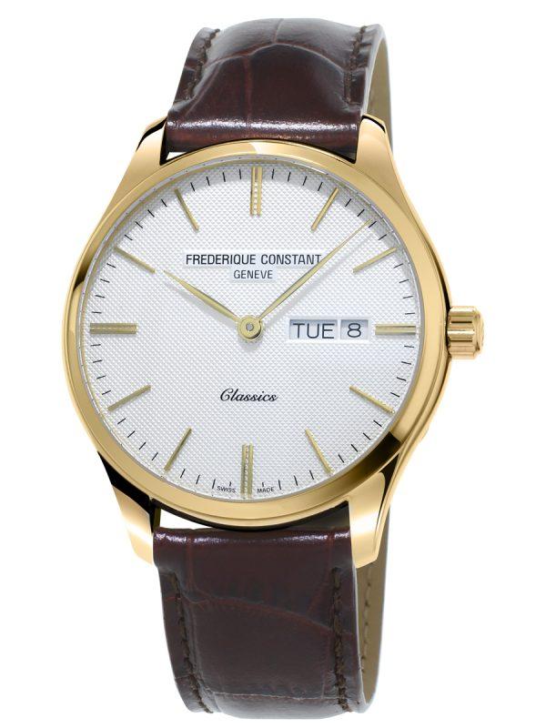 Klasični muški sat sa pozlatom