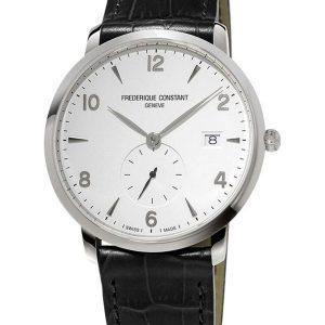 Kvarcni sat sa kožnom narukvicom