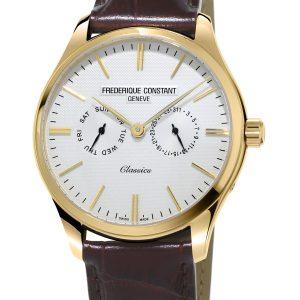 Klasičan muški sat sa pozlatom
