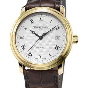 Švajcarski muški sat sa pozlatom