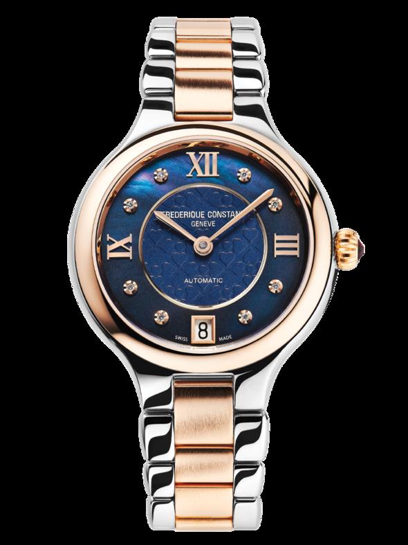 Ženski sat sa roze pozlatom