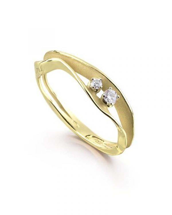 Prsten u žutom zlatu
