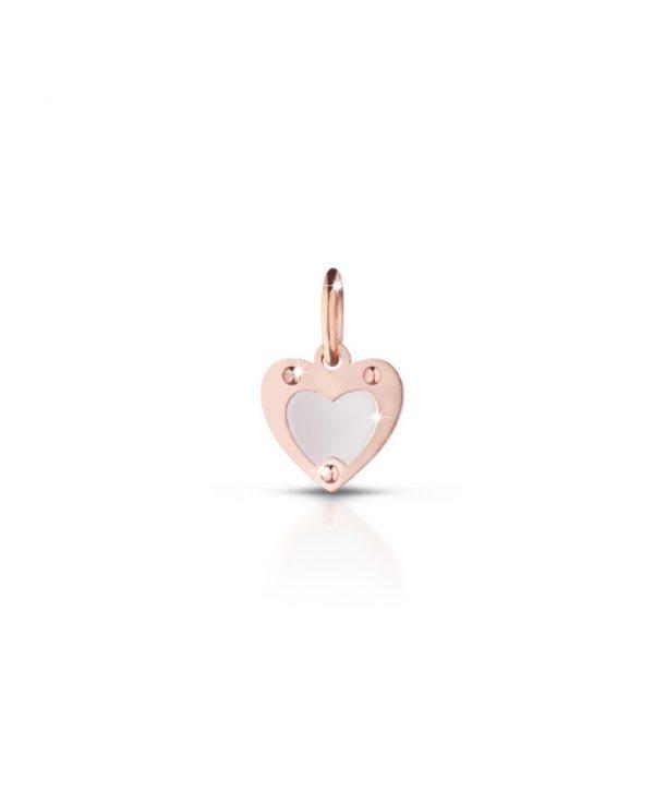 Srebrni privezak srce Le bebe