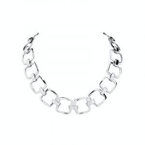 moćna srebrna ogrlica