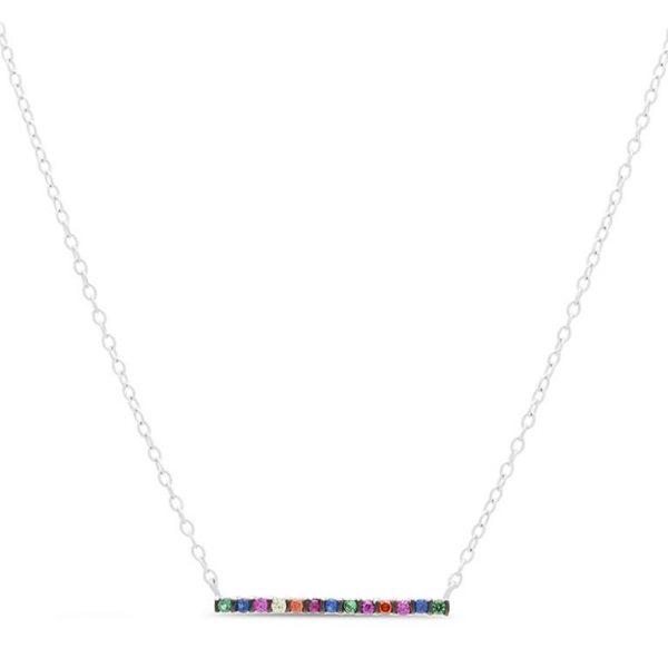 Ogrlica od srebra sa cirkonima