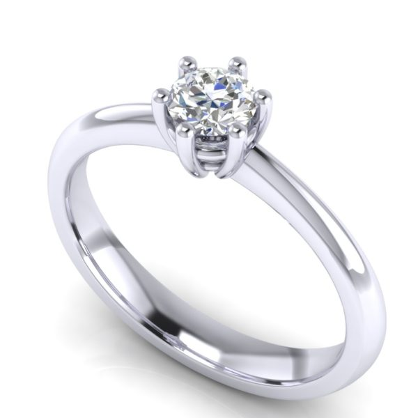 Klasičan prsten za veridbu