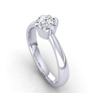Nežan prsten sa dijamantom