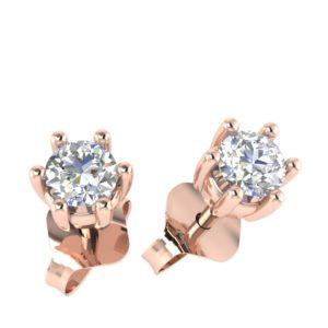 Klasične minđuše sa dijamantima