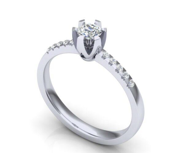 Verenički prsten ukrašen dijamantima