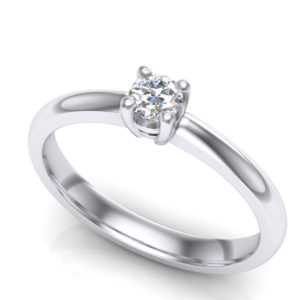 Verenički prsten klasičnog dizajna