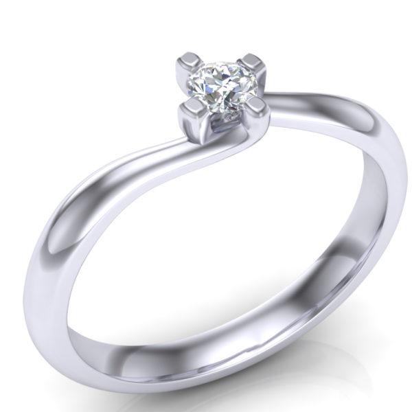 Prsten sa dijamantom