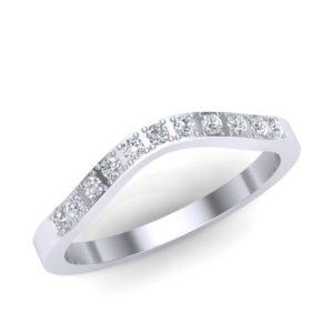 Stilizovana burma sa dijamantima