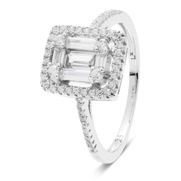 elegantni srebrni prsten