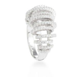 moderni prsten od srebra
