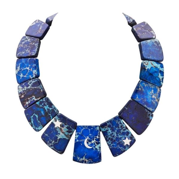 ogrlica od srebra sa sodalitom