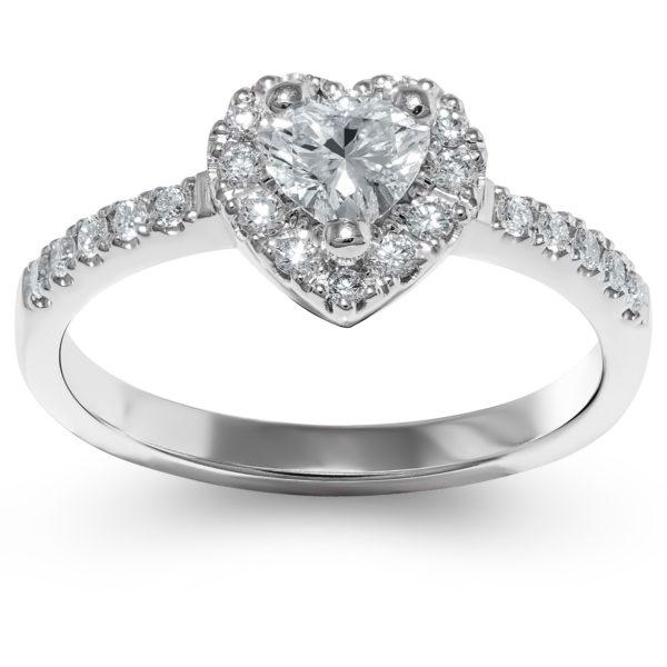 Romantičan verenički prsten
