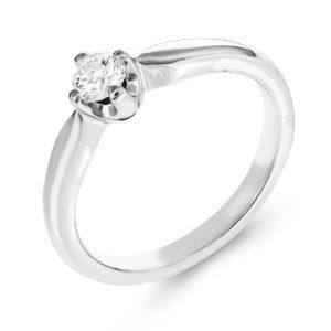 Verenički prsten sa brilijantom