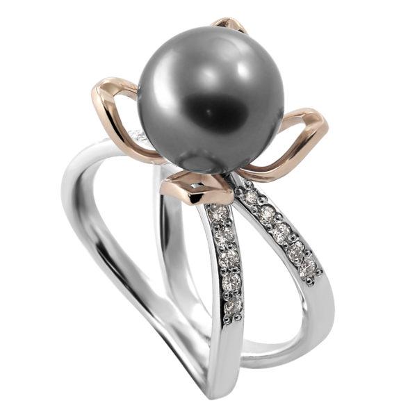 Prsten sa morskim biserom