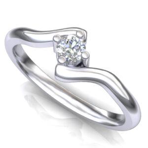 Stilizovan prsten za veridbu