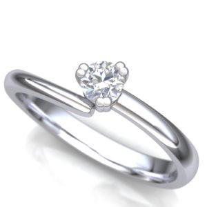 Stilizovan verenički prsten