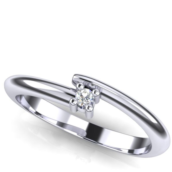Diskretan prsten za veridbu