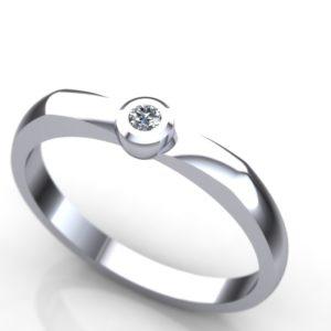 Verenički prsten romantičnog dizajna