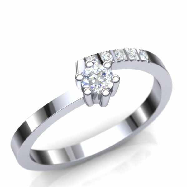 Elegantan prsten za veridbu
