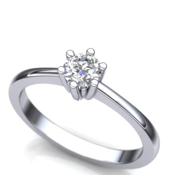Klasičan prsten soliter