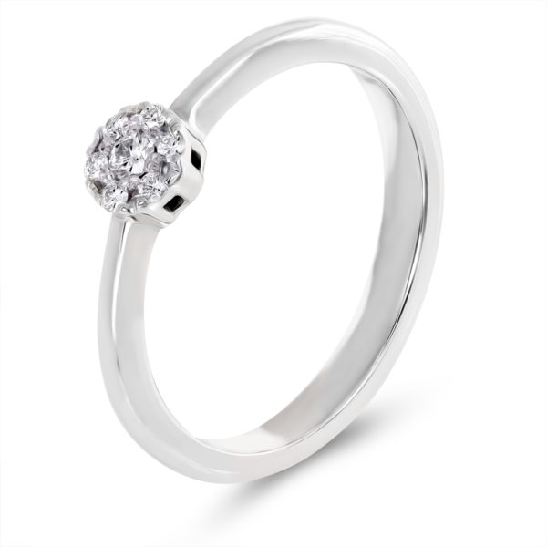 Verenički prsten sa brilijantima