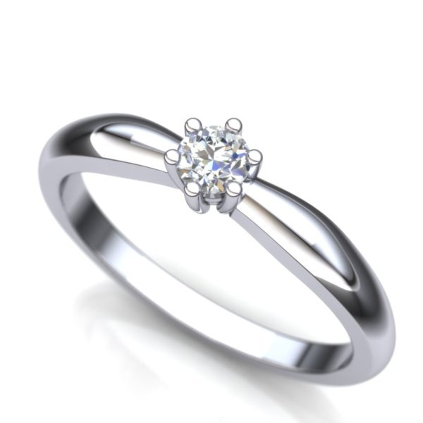 Dijamantski verenički prsten