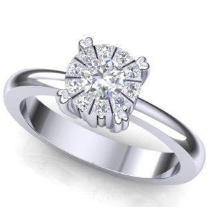 Moderan dijamantski prsten