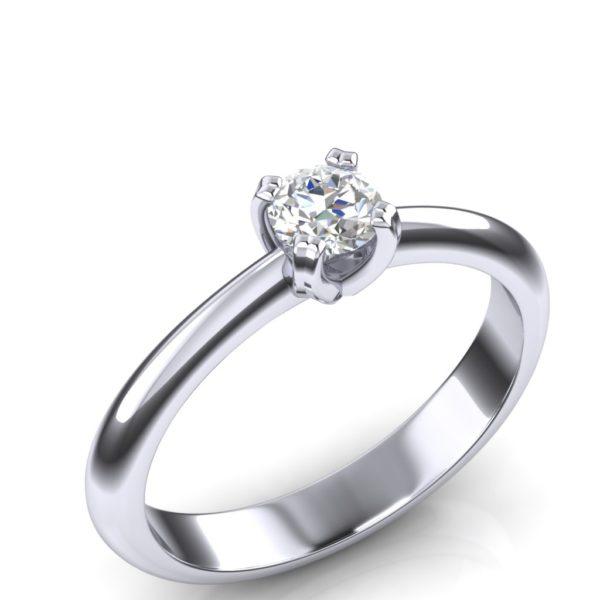 Klasičan prsten sa dijamantom