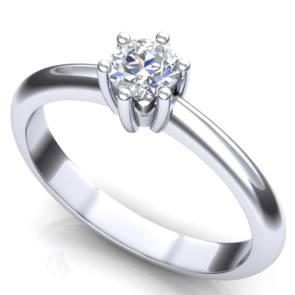 Klasičan dijamantski prsten