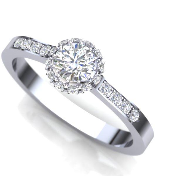 Dijamantski glamurozan prsten
