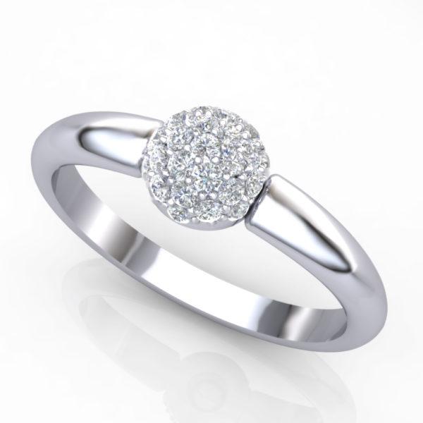 Prsten sa brilijantima