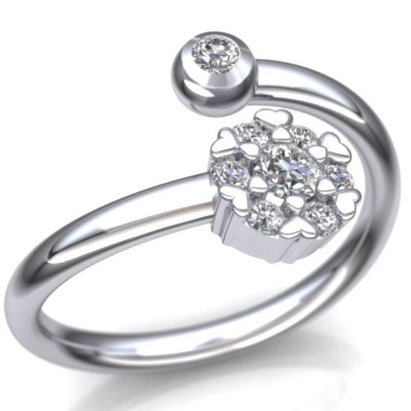 Prsten u obliku cveta