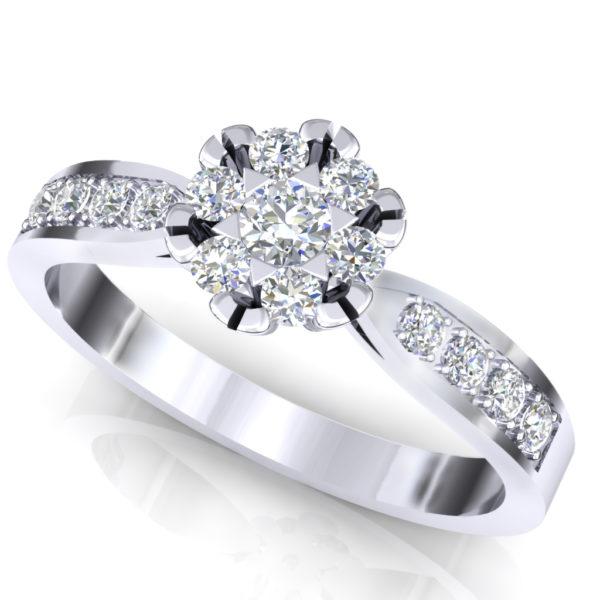 Raskošan prsten sa brilijantima