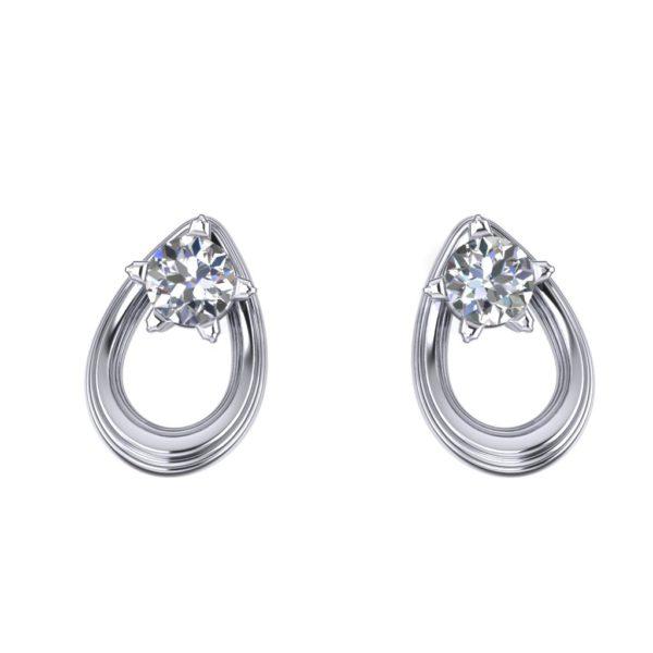 Prefinjene minđuše sa dijamantima